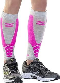 Zensah Merino Wool Compression Leg Sleeves - Calf Sleeve, Shin Sleeve, Shin Splints
