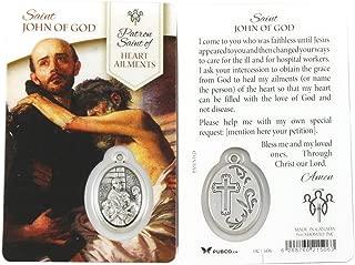 Saint John of God Healing Prayer Card