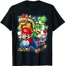 Nintendo Super Mario Luigi Bowser Spray Paint T-Shirt