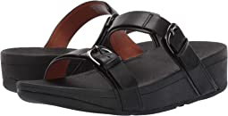 442f440085d1 Fitflop bando leather croc slide