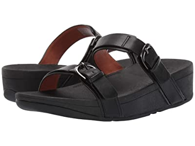 FitFlop Edit Slide (Black) Women