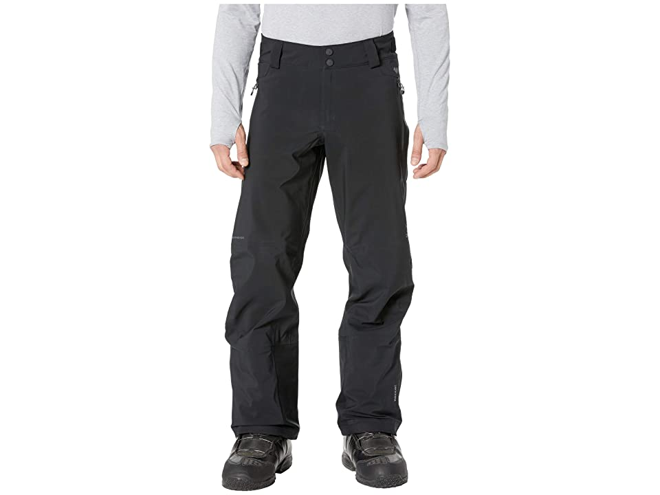 Obermeyer Foracker Shell Pants (Black) Men