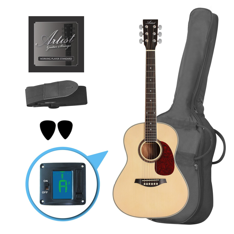 Artista lsp34 3/4 tamaño guitarra acústica de principiante Pack ...