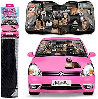 Car Full of Cats Auto Shade