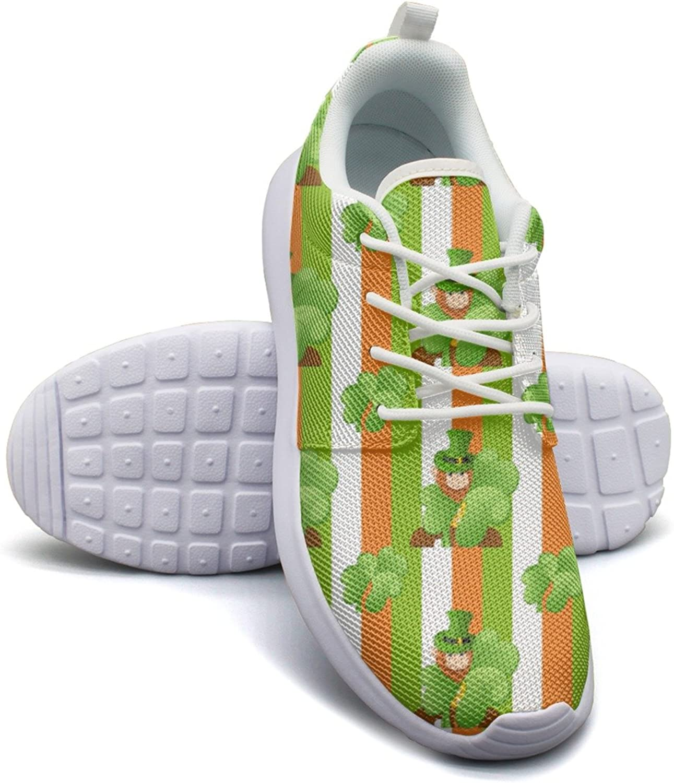 Shamrock Flag Green Women's Lightweight Mesh Basketball Sneakers Designer Gym shoes