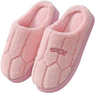 Hausschuhe Damen Pantoffeln Winter Memory Foam Pantoffeln Herren Plüsch Wärme Weiche Bequeme Unisex Rutschfeste Home Slipp...