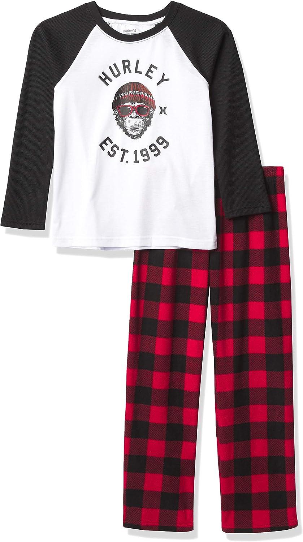Hurley Boys' Pajamas 2-Piece Set