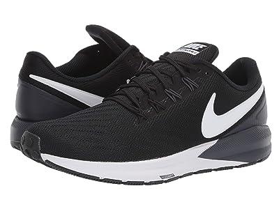 Nike Air Zoom Structure 22 (Black/White/Gridiron) Men