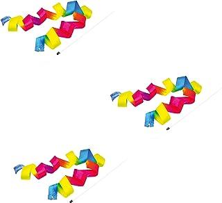 Attività creative Fogli da disegno B Baosity Nastri Casuali del Broccato di Ginnastica di 4Pcs di Rhymthmic con Le Maniglie per Twirling del Bastone