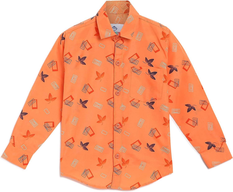 Kidling Kids Printed Cotton Shirt for Boys (K-304_$P)