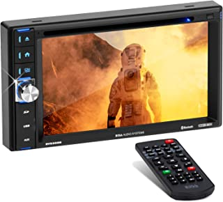 BOSS Audio Systems BV9358B Car DVD Player - Double Din, Bluetooth Audio and Calling, 6.2 Inch LCD Touchscreen Monitor, MP3...