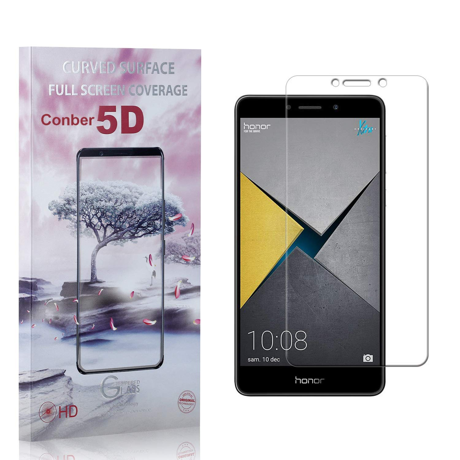 Conber 3 Pack Screen Protector Popular products Anti-Shat Long-awaited for Honor 6X Huawei