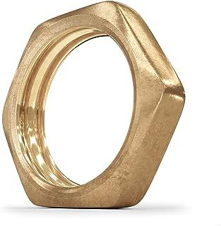Brass Pipe Fitting - Locknut 1/2