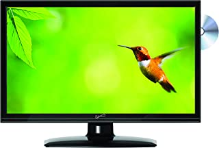 """SuperSonic SC-1512 LED Widescreen HDTV 15.6"""", Built-in DVD Player with HDMI, USB, SD.."""