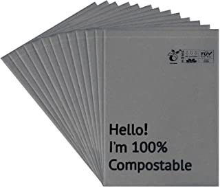 12x15.5 Inches Biodegradable Shipping Bags, 55 Pieces Compostable Poly Mailers Supplies Mailing Bags Eco Friendly Envelope...