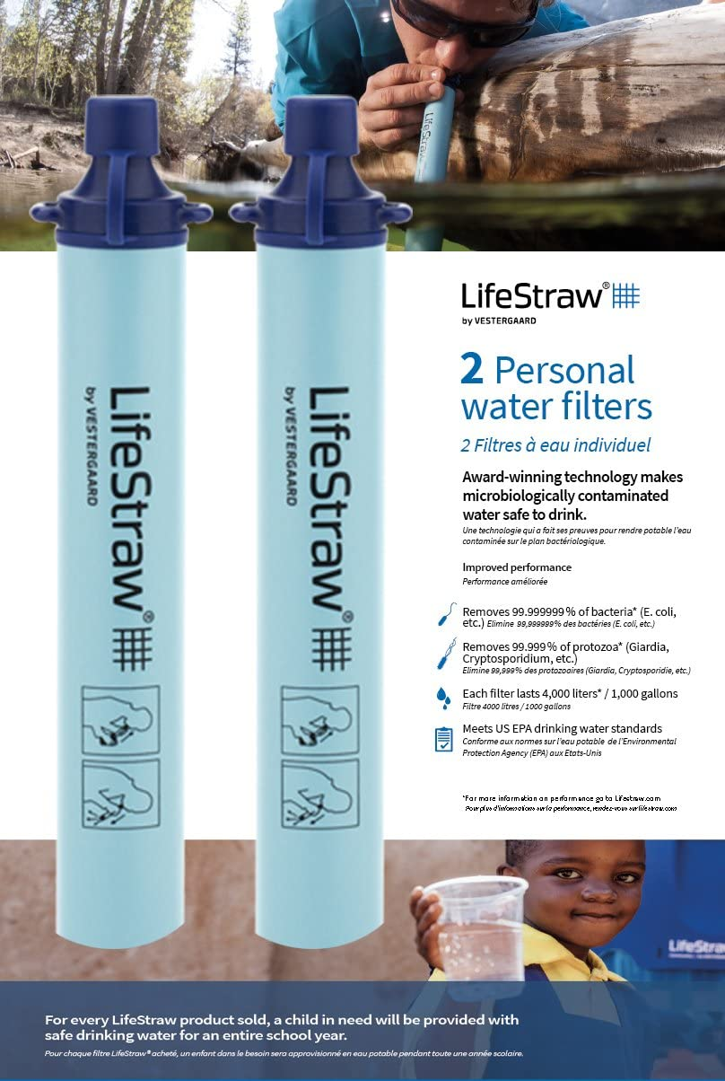 Lifestraw for hiking is one of the best hiking gifts for hiking