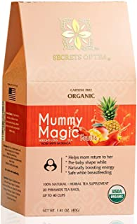 Mummy Magic Weight Loss Tea - Fruit Tea with 40 Servings - Energy Tea Naturally Increase Digestion.Postpartum Tea for Meta...