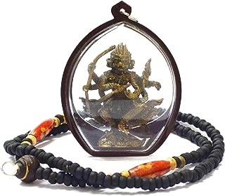 Thai Pendants Jewelry Hanuman Lp Kalong Wat Kaolaem Thai Buddha Amulet Pendant Yant Protection Magic