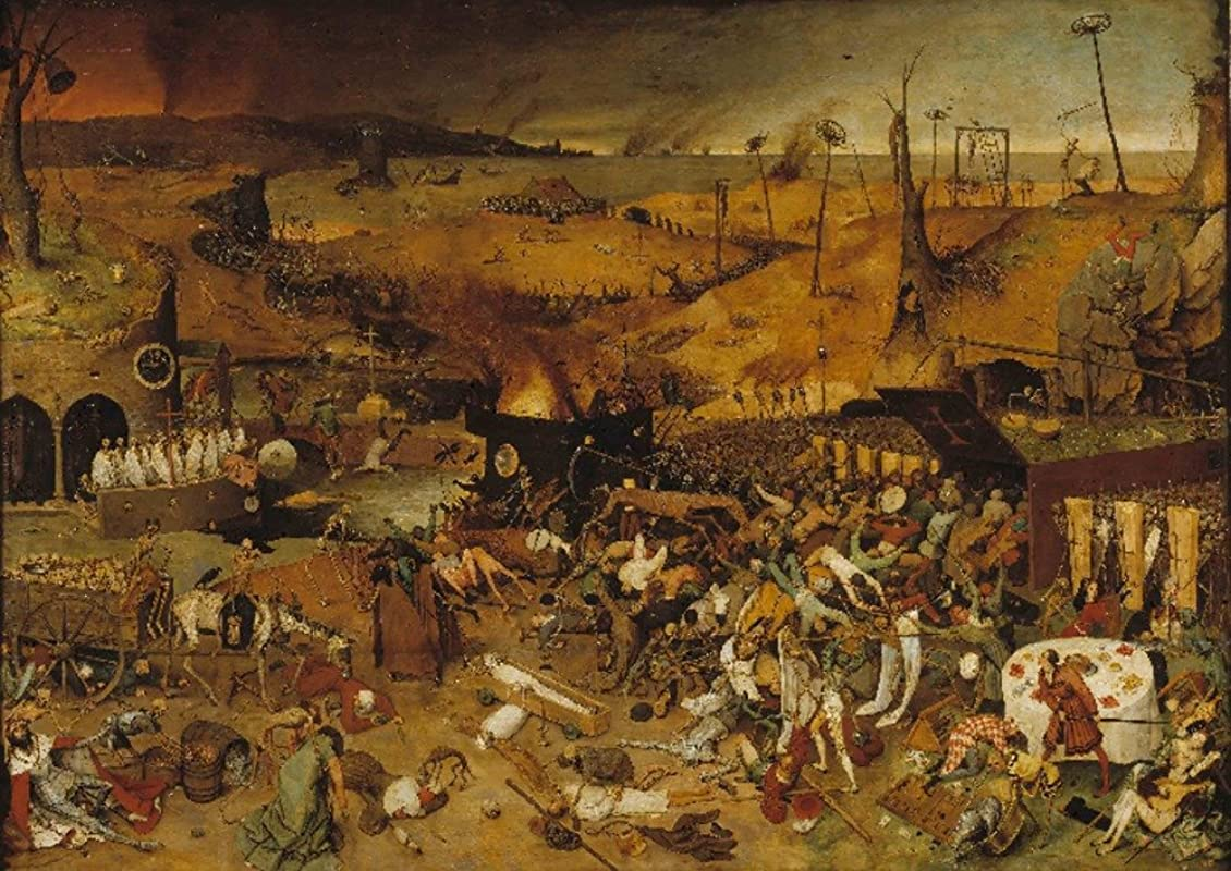 The Triumph Of Death Artist Pieter Bruegel The Elder C 1562 Masterpiece Classic 16x24 Giclee Gallery Print Wall Decor Travel Poster