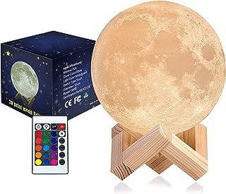 Wenjuersty - Lámpara de luna (3DPrint), diseño de luna