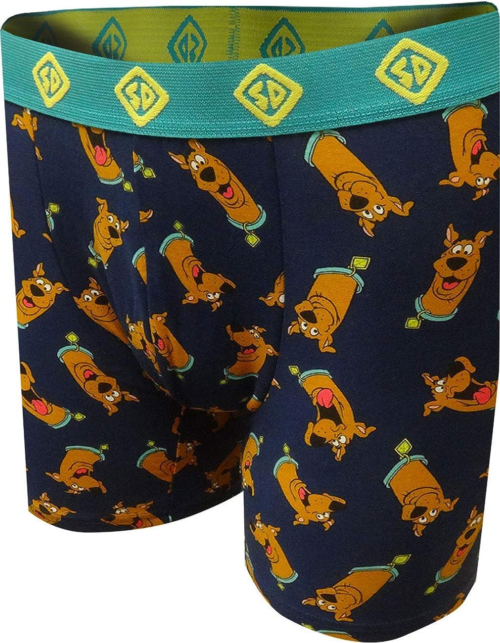 Underboss Men's Recommendation Scooby Doo Print Las Vegas Mall Briefs Boxer Heads