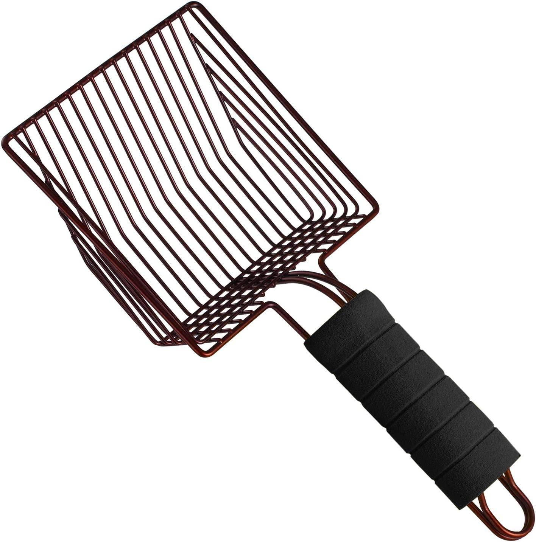 Cat Litter Scoop Lesige Steel Metal Price Max 65% OFF reduction Scooper Deep Shovel with an