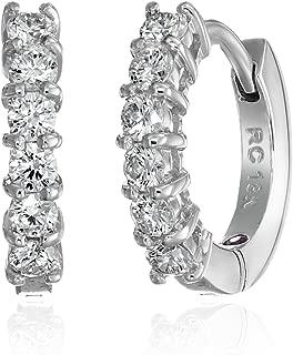 Best roberto coin diamond huggie earrings Reviews