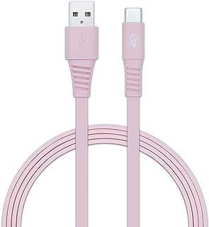 Cabo Tipo USB-C, 1,2 Metros, Cor Rosa, i2Go Basic