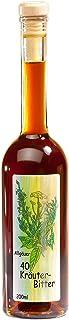 Kräuterschnaps 40 Kräuter Bitter aus dem Allgäu | 200ml Kräuterlikör aus ausgewählten Kräutern | Feinkost Spirituose | 34% Vol.