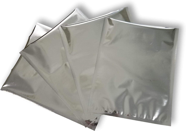 "11""x14"" Max 69% OFF SteelPak Textured Excellence Embossed Sealer Mylar Vacuum"