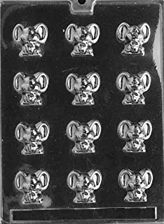 Grandmama's Goodies A023 Tiny Mouse Mice Chocolate Candy Soap Mold with Exclusive Molding Instructions