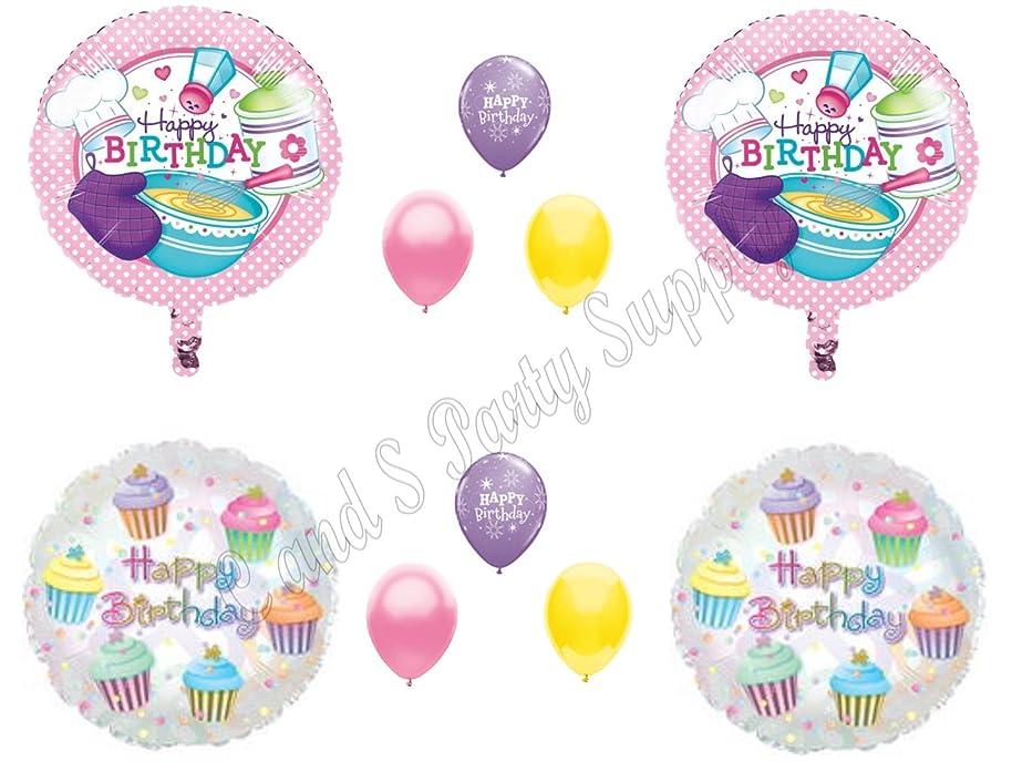 LITTLE CHEF BAKING KITCHEN PLAYTIME Birthday Party Balloons Decoration Supplies