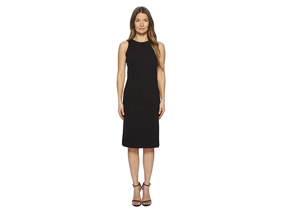 ESCADA Dajet Dress with Rhinestone Detail (Black) Women