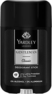 Yardley Gentleman Classic Deodorant Stick, masculine fragrance, all day freshness - 50ml