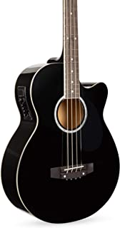 Best Best Choice Products Acoustic Electric Bass Guitar - Full Size, 4 String, Fretted Bass Guitar - Black Reviews