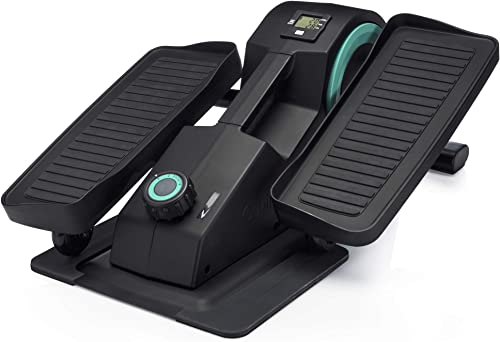 Cubii JR1 Seated Under Desk Elliptical Machine for Home Workout, Mini Elliptical, Desk Bike Pedal Exerciser, Whisper ...