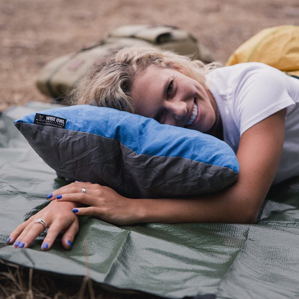 Wise Owl Outfitters Camping Pillow