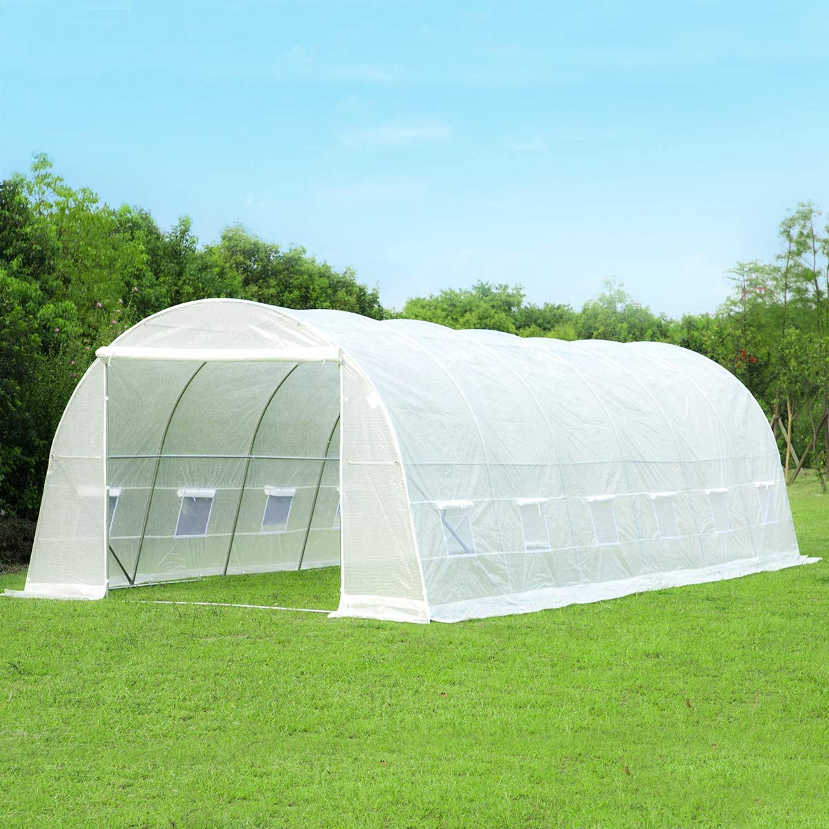 Erommy 26' x Quality inspection 10' 7' Greenhouse Large House Gardening High order Hot Plant