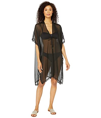 Bleu Rod Beattie Gypset Kimono Caftan Cover-Up (Black) Women