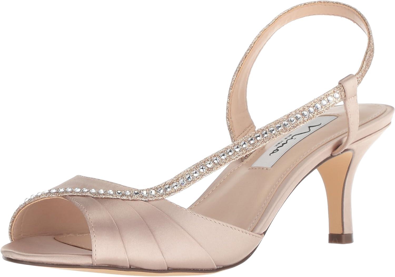 NINA Woherren Cabell Heeled Heeled Sandal, Taupe 293, 6 M US  Kunden zuerst