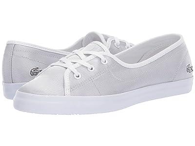 Lacoste Ziane Chunky 119 3 (Light Grey/White) Women