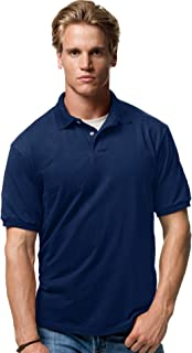XXXX-Large Stedman by Hanes 5.5 oz 50//50 Jersey Knit Polo in Navy