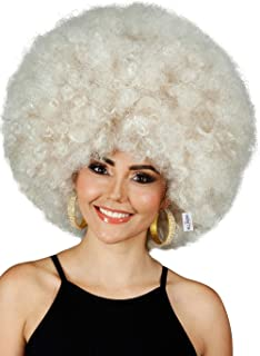 Best deluxe blonde afro wig Reviews