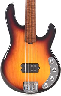 $2499 » Ernie Ball Music Man BFR StingRay 4H Fretless - Sierra Vintage Burst