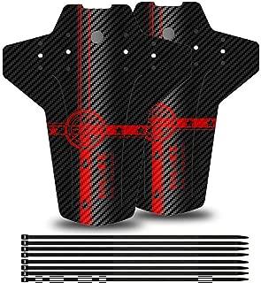 5 Pouces 5,5 Pouces Universels Trous De Fixation Fixes avec /Éclairage De S/écurit/é Fibre De Carbone Plaquettes De Frein Chalkalon Garde-Boue Arri/ère pour Trottinette /Électrique