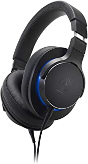 Audio Technica ATH-MSR7b Over-Ear High-Resolution Headphones - 45 mm True Motion Drivers - Memory Foam Ear Pads - Lightwei...
