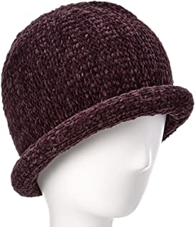 AUGUST HAT COMPANY Women's Chenille Roll Up Hat One Size