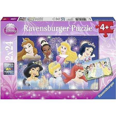 Ravensburger Puzzles 2x24 pièces réunies/Disney Princesses, 8872