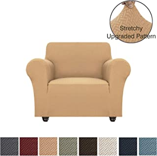 Obytex Stretch Chair Cover Polyester and Spandex Upgrade Pattern Couch Covers Dog Cat Pet Slipcovers Furniture Protectors,Machine Washable