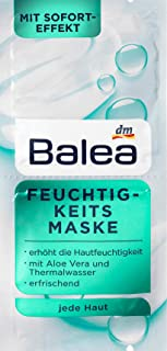Balea Moisturizing Mask, 2x8ml